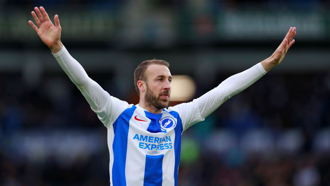 Brighton & Hove Albion 1 - 0 Wolverhampton Wanderers| Brighton's striker Glenn Murray returned from an injury that saw him being being carried off on a stretcher a week ago with the winning goal to clinch a 1-0 win over Wolverhampton Wanderers in a pulsating clash. Murray scored the goal (48') shortly after half-time Chris Hughton's side their third 1-0 league win in a row and lift them to 11th place. (Image: Reuters)