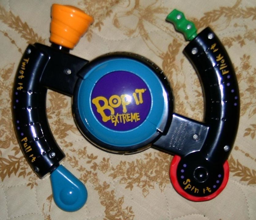 Answer: Bop It (Image source: Wikimedia Commons)