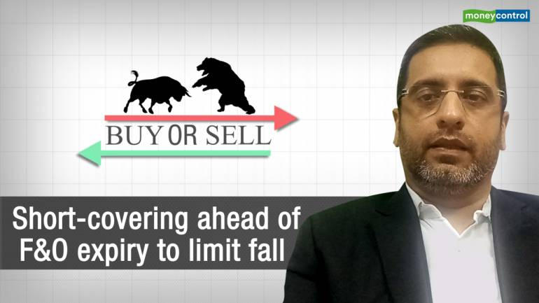 Buy or Sell   Short-covering ahead of F&O expiry to limit fall