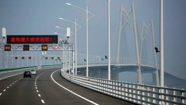 World's longest bridge connecting Hong Kong-Macau-Zhuhai to open on October 24