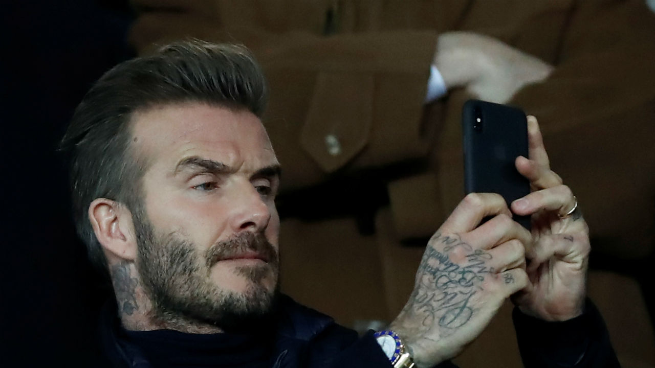 No. 4 | David Beckham | Sport: Football | Country: England | Instagram handle: davidbeckham | Followers: 51.5 Million | Cost per post: $300,000 (Image: Reuters)