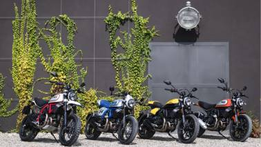 Ducati adds three more bikes to its Scrambler range