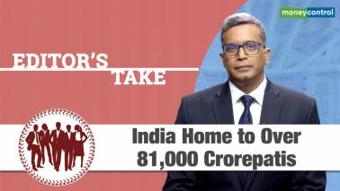 India Home to Over 81,000 crorepatis