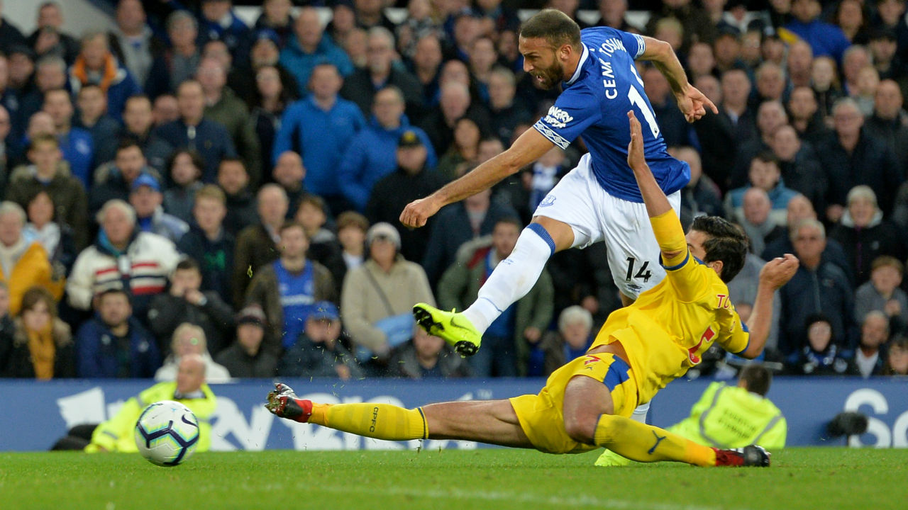 Everton 2 - 0 Crystal Palace | Two late goals in two minutes from substitutes Dominic Calvert-Lewin and Cenc Tosun saw Everton past Crystal Palace -- for whom Luka Milivojevic had a penalty saved -- 2-0 at Goodison Park. Calvert-Lewin converted a cross by fellow sub Ademola Lookman in the 87th minute with a drab game appearing certain to end in a 0-0 draw before Tosun rounded off a quick break with a low finish. (Image: Reuters)
