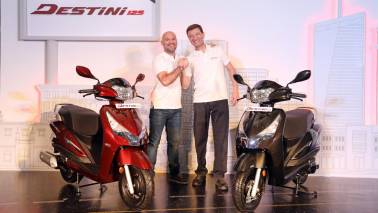 Hero launches its first 125cc scooter Destini 125 at Rs 54,650, ex-showroom