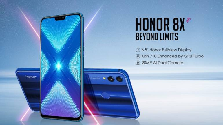 Honor 8X with notch display, AI-features to launch in India on October 16:  First ever Honor phone with Kirin 710 SoC