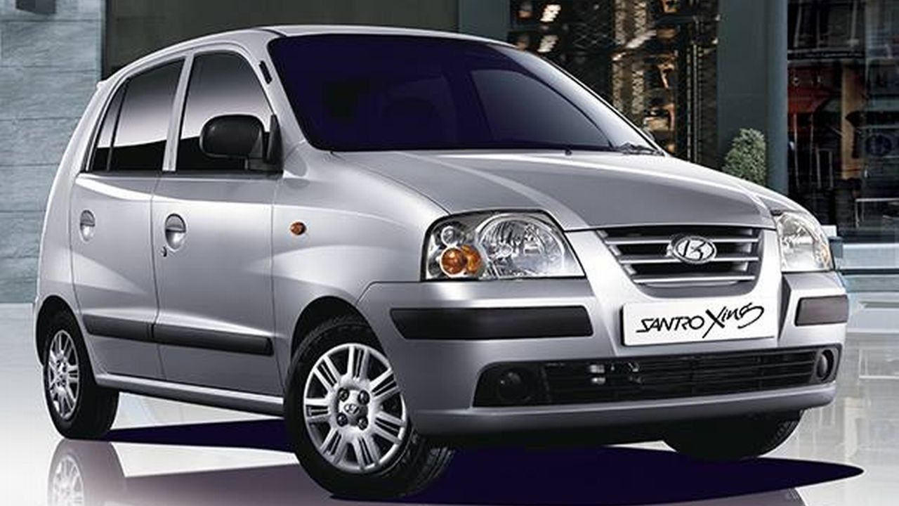The final model that took on the Santro monicker was launched in 2003. Named the Santro Xing, the car was finally discontinued in 2015 along with the Santro brand. (Image source: Facebook/Hyundai)