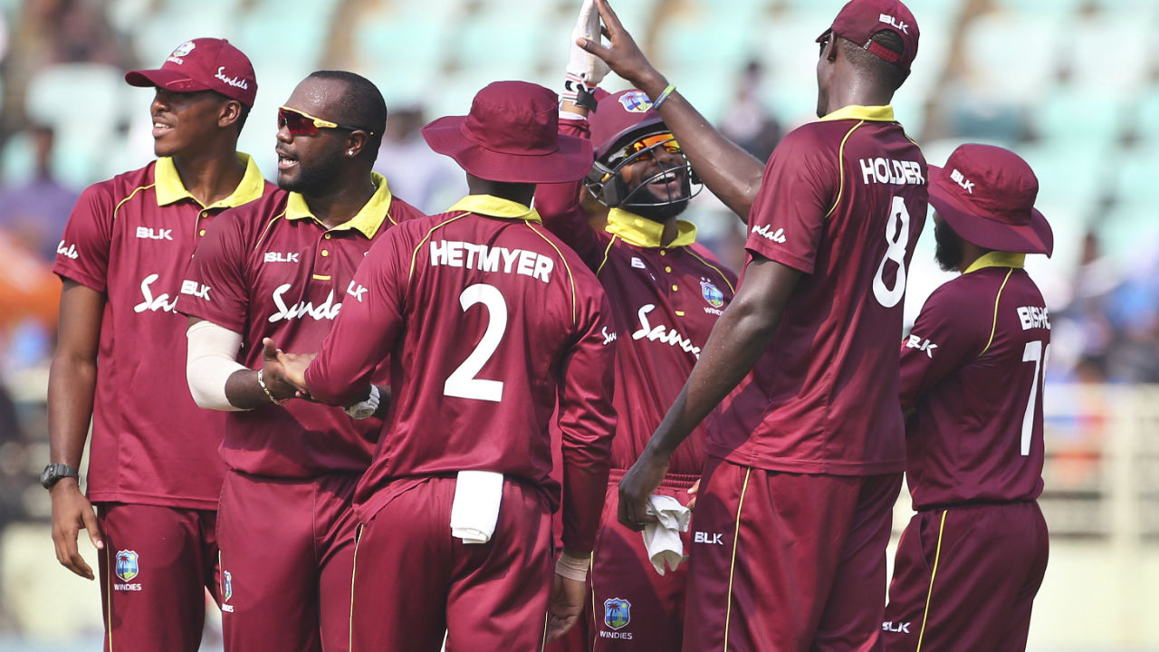 Windies were off to a good start when they sent Indian openers Rohit Sharma and Shikhar Dhawan back in the hut early. Rohit was dismissed in the 4th over when he cut Kemar Roach's delivery straight to Shimron Hetmyer at backward point. Dhawan was trapped lbw in the 9th over by Ashley Nurse. (Image: AP)