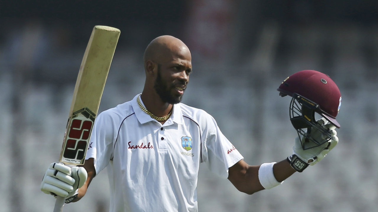 Roston Chase (West Indies) | Chase ranks second on the list of leading run scorers in the series. The Bajan all-rounder was the only batsman from the Windies who displayed credible form with the bat. He hit a fifty in the first Test and then went on to make a century in the second, which was his second in the longer format of the game overall. Series Stats | Matches: 2 | Innings: 4 | Runs: 185 | HS: 106 | Average: 46.25 | 50s: 1 | 100s: 1 (Image: AP)