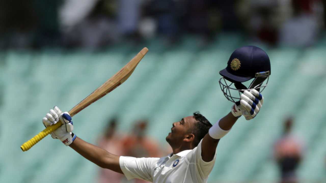 Prithvi Shaw | The 18-year-old debutant scored a century at Rajkot and become the second-youngest Indian to do so, behind Sachin Tendulkar. Overall, Shaw is the seventh youngest to get to a century in Tests. The diminutive Mumbai opener also scored the third fastest century on Test debut. (Image: AP)