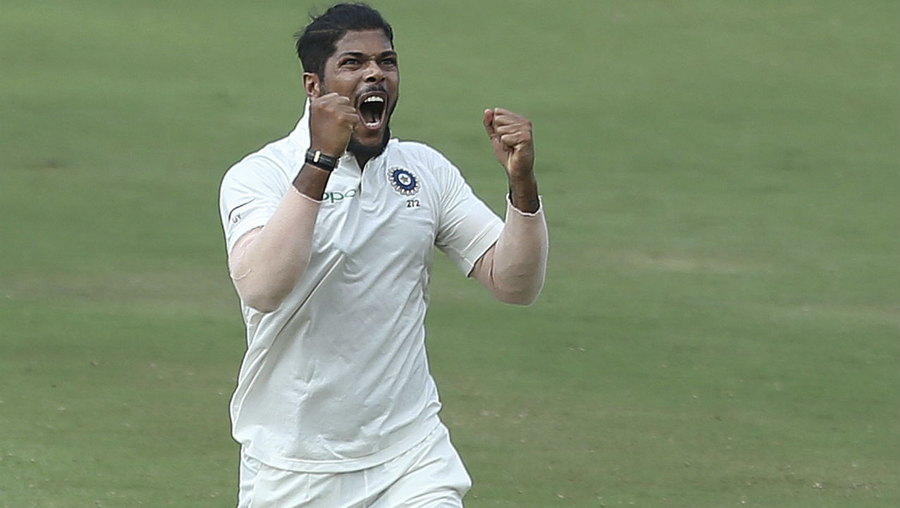 Umesh Yadav | The fast bowler ended the series as the leading wicket taker. After having played just one Test against England, Yadav featured in both the Tests against the Windies at home. The bowler picked just 1 wicket in the first Test at Rajkot, but proved to be lethal in the second at Hyderabad where he managed to pull off a 10-wicket haul. The bowler had to share the burden in the bowling attack as fellow pacer Shardul Thakur limped off the the ground early on day 1 and did not bowl in the remainder of the Test. Series Stats | Matches: 2 | Innings: 4 | Overs: 52.5 | Wickets: 11 | BBI: 6/88 | BBM: 10/133 | Average: 15.36 (Image: AP)