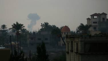 Around 50 rockets fired at Israel from Gaza: Israeli army