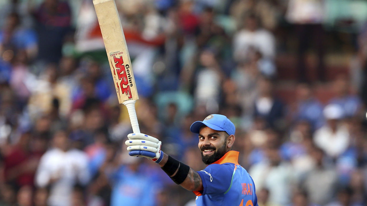 Virat Kohli is the fastest batsmen to cross the 10,000-run mark in ODIs. (Image: AP)