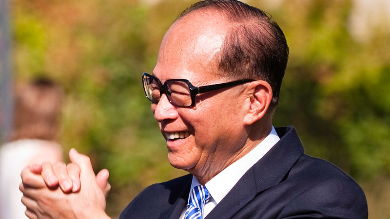 Answer: Li Ka Shing (Image: Wikipedia)