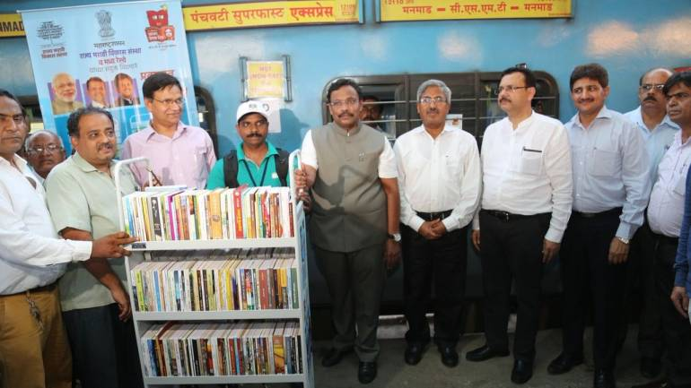 Image result for indian railways library on wheels