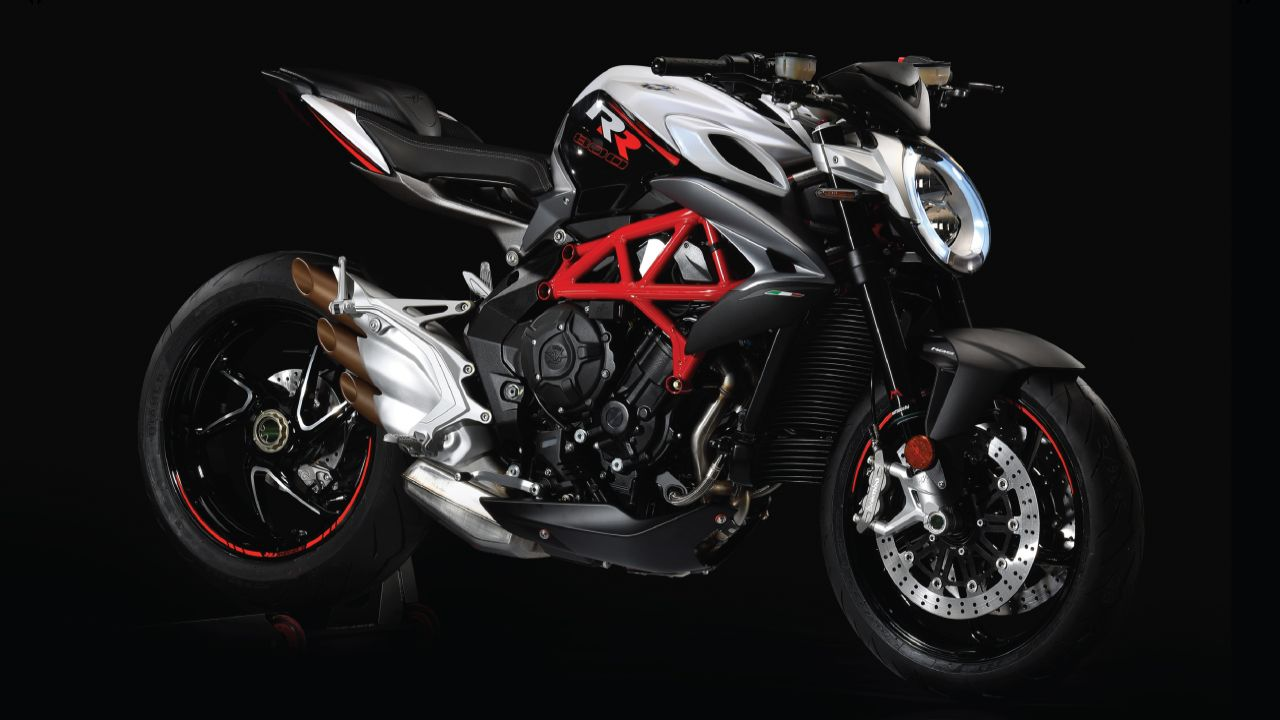 MV Augusta Brutale 800 RR | Rs 18.99 lakh (ex-showroom) | While MV Augusta bikes were being sold in India, the latest addition is the Brutale 800 RR. This naked bike gets a 798cc three-cylinder engine making 140 Bhp at 13,100 rpm and 86 Nm of peak torque at 10,100 married to a 6-speed shifter. 43 mm Marzocchi upside down forks do duty on the front while the rear is handled by s Progressive Sachs monoshock. 320 mm double floating disc at the front and 220 mm disc in the back with ABS as standard. (Image source: Motoroyale)
