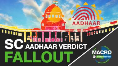 Macro@Moneycontrol  I  Fallout of the Aadhaar verdict