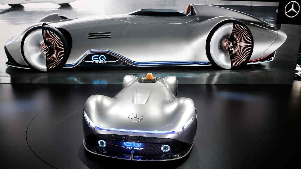 Mercedes-Benz EQ Sliver (Image: Reuters)