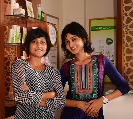 Q2. Mauli Teli and Grishma Teli, who worked in the US as professionals in management consulting and biotech research &amp development respectively, quit their jobs and moved back to their hometown with a dream to start a cosmetics and personal care company focused on developing, manufacturing and marketing eco-ethical products that would address unmet consumer needs. Which company did they find?