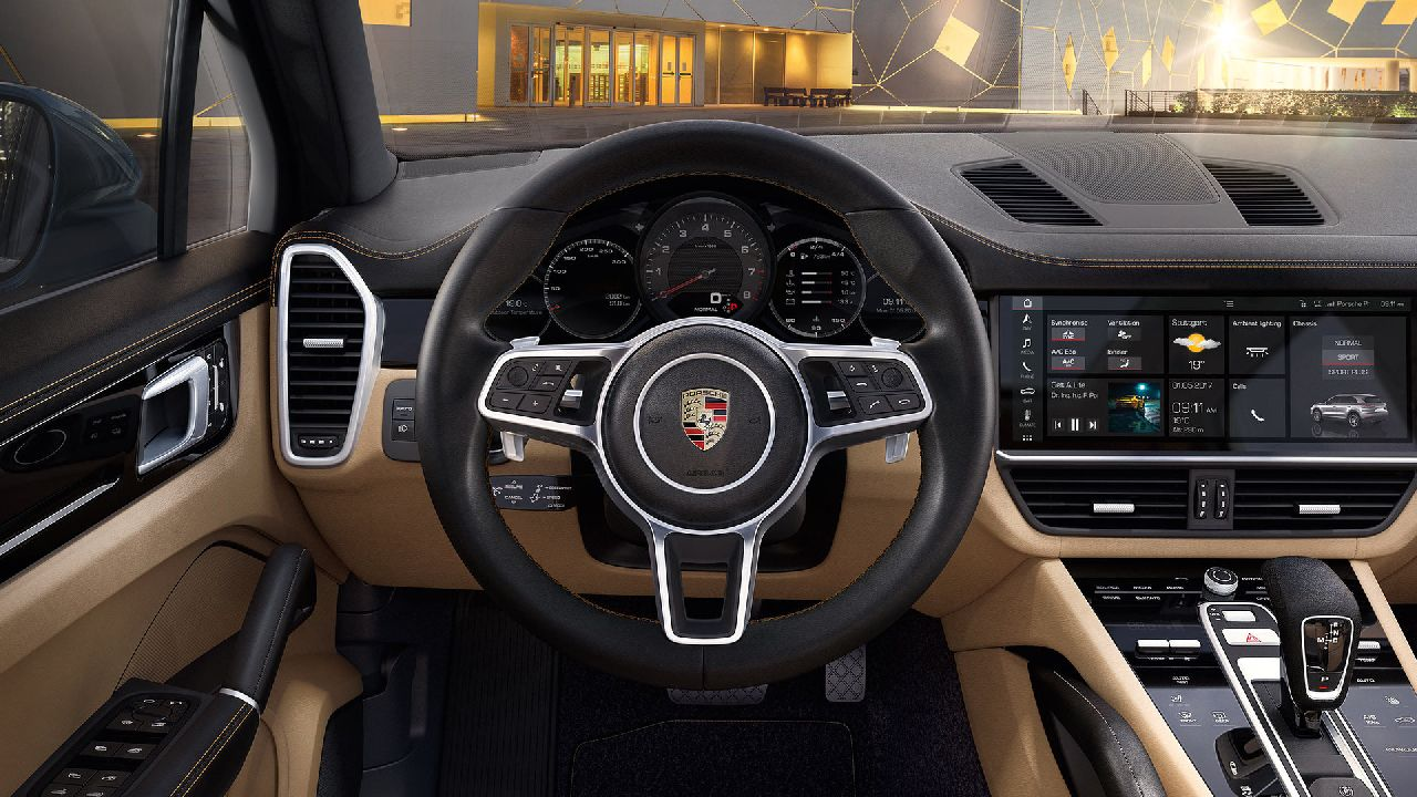 The car also gets the Porsche Dynamic Light System (PLDS) or LED Matric Beam headlamp. (Image source: Porsche)