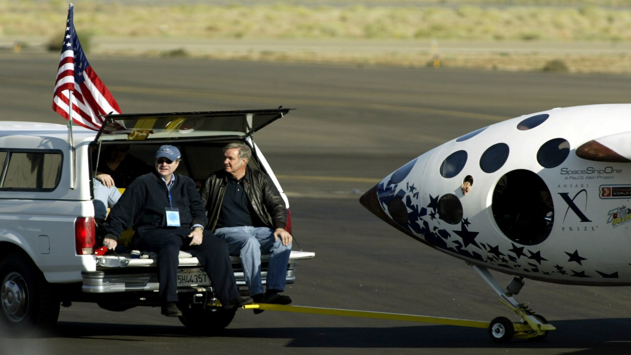 Aviation | Elon Musk-owned SpaceX is the toast of the town for announcing the first lunar flight for civilians, but it is a little known fact that SpaceShip-One, an aviation company founded by Paul Allen, was the first to put a civilian in suborbital space. Allen and the designer of the aircraft, Burt Rutan, shared the prestigious Ansari X-Prize in 2004. (Image: Reuters)