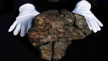 A rock that's worth crores! Rare 5 kg rock from the moon auctioned for over Rs 4 crore