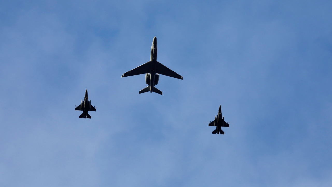 Military aircraft make a pass during NATO's Exercise Trident Juncture, above Trondheim, Norway. (Image: REUTERS)