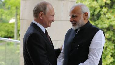 PM Narendra Modi, Vladimir Putin meet for annual summit