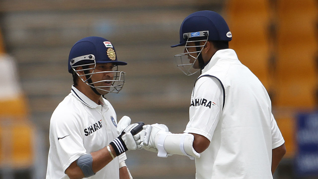 Most hundred partnerships by a pair in Tests - Rahul Dravid and Sachin Tendulkar | Tendulkar and Dravid are India's most prolific run scorers in Tests. The duo batted with each other in 143 innings and share the record for the most hundred-run partnership in Tests having stitched together 20 century stands. (Image: Reuters)