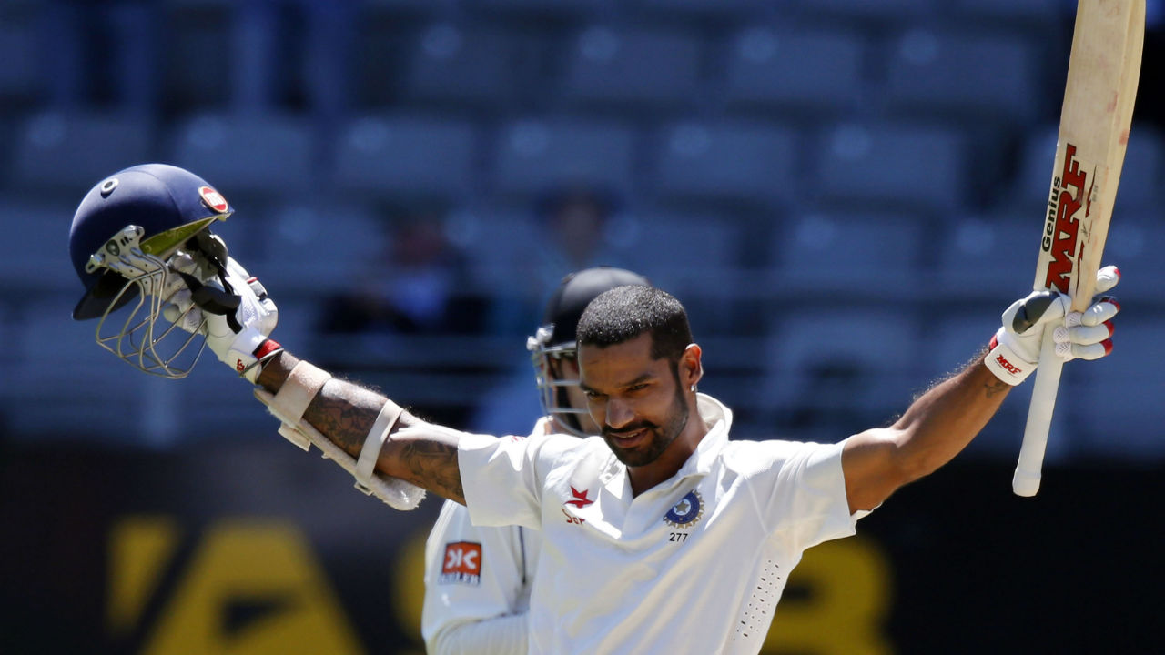 Fastest century on Test debut – Shikhar Dhawan | The southpaw from Delhi carried his combative style into Test cricket when he debuted against the Australians at Mohali in March, 2013. Dhawan needed just 85 balls to get to his hundred surpassing the previous record set by Dwayne Smith (93 balls). (Image: Reuters)