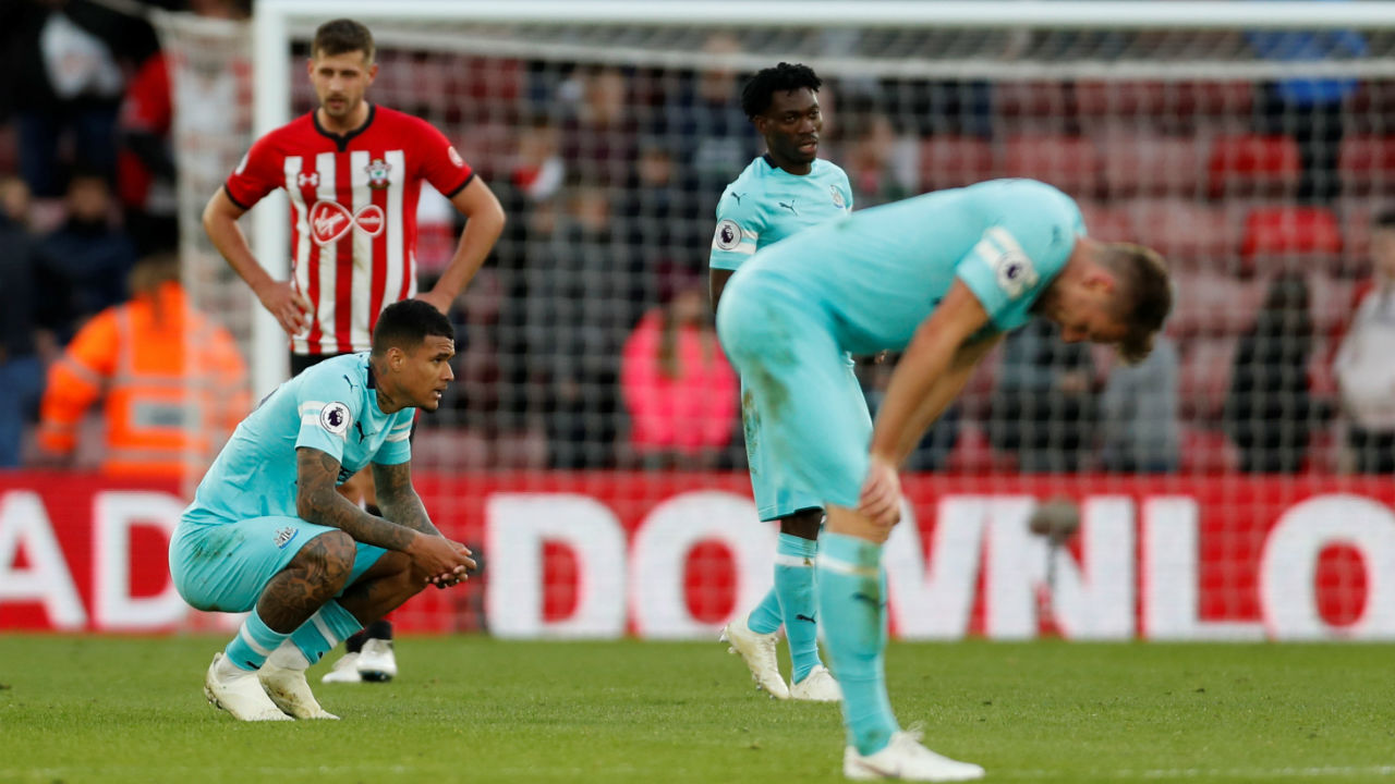 Southampton 0 - 0 Newcastle United | Southampton played out second goalless draw in as many weeks as it drew against Newcastle United at home. Draw means Newcastle United are winless this season but a point they earned has lifted them off the bottom of the table. At 16th in the league table Southampton are marginally better. (Image: Reuters)