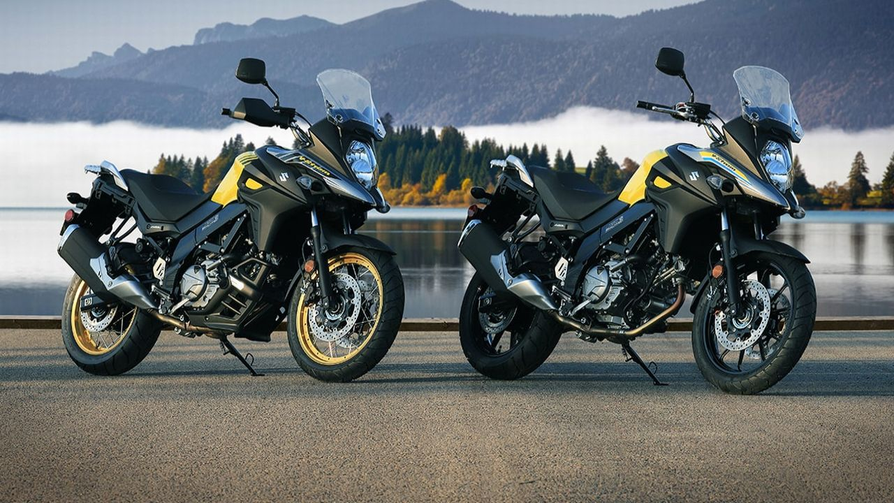 Suzuki V-Strom 650 | Launched in October, the Suzuki V-Strom came in to take on the Kawasaki Versys 650. It is Suzuki's third bike to be assembled in India after the Hayabusa and the GSX-750. The bike is powered by a 645cc V-twin that churns out 71 PS and 62 Nm of torque. The bike is available in two variants, a standard and an off-road biased XT variant. (Image source: Suzuki)