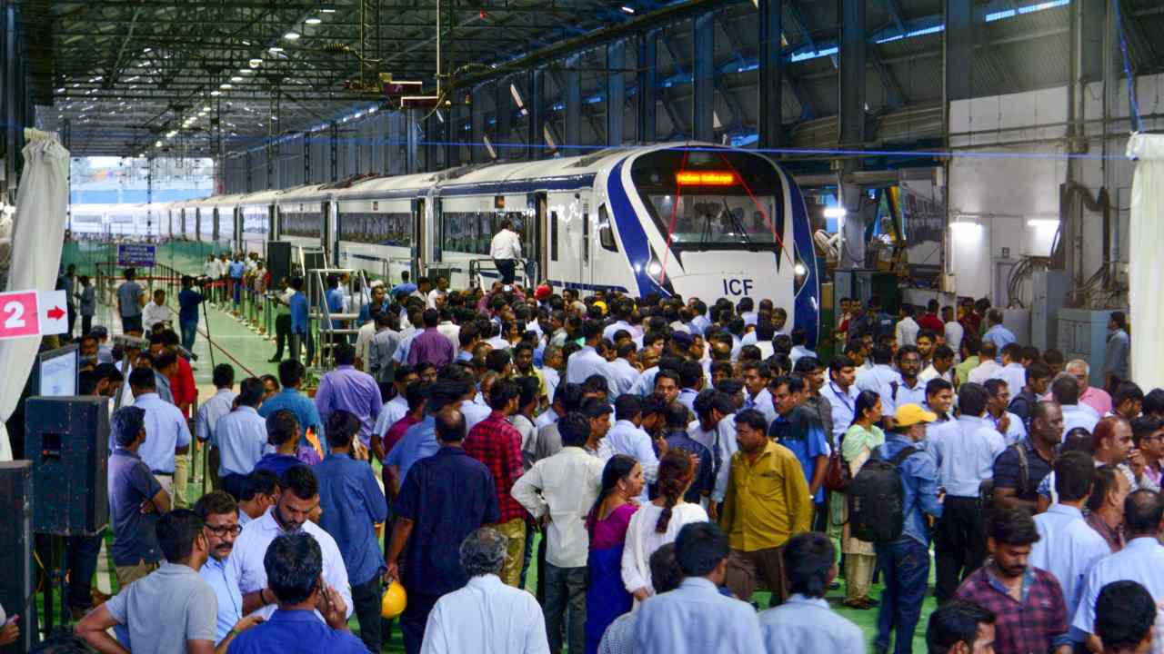 Train 18: A look at India's first indigenously-built engineless train