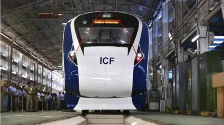 Image result for Vande Bharat Express to charge between Rs 1,850 to 3,520 for Delhi to Varanasi trip