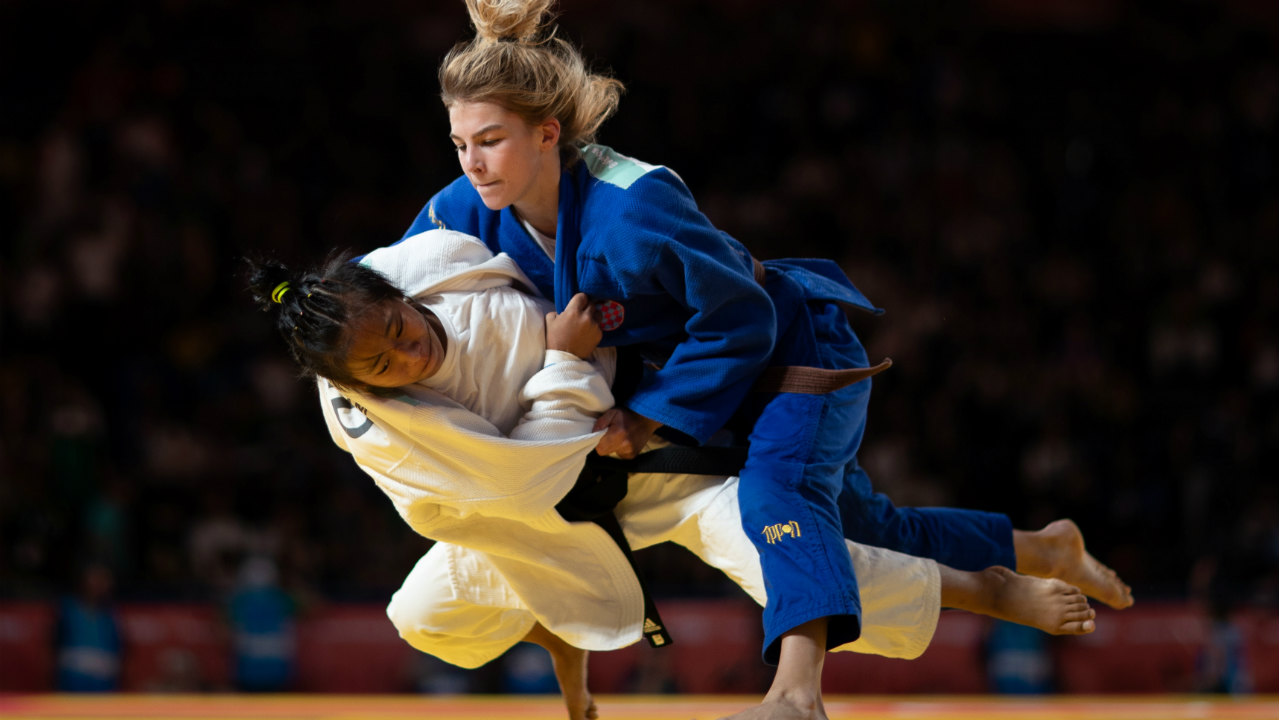 Tababi Devi Thangjam | Silver (Judo 44kg) | The teenager (in white) from Manipur became India's first judoka to win an Olympic medal at any level. The 2017 Asian Cadet champion Tababi, lost out 0-2 to Gimenez who is a Pan American U18 Championships gold medalist. (Image: Reuters)