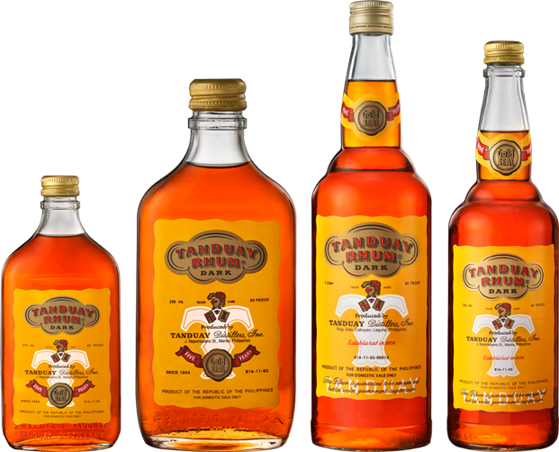 6.Tanduay | Sales volume: 19.5 million | Type of alcohol: Rum | Country of origin: Philippines | Average alcohol content: 40% (Image: Tanduay)