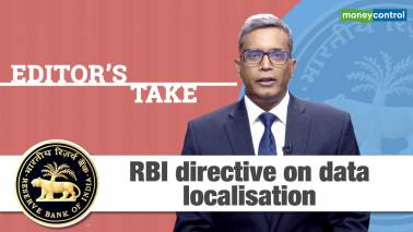 RBI directive on data localisation