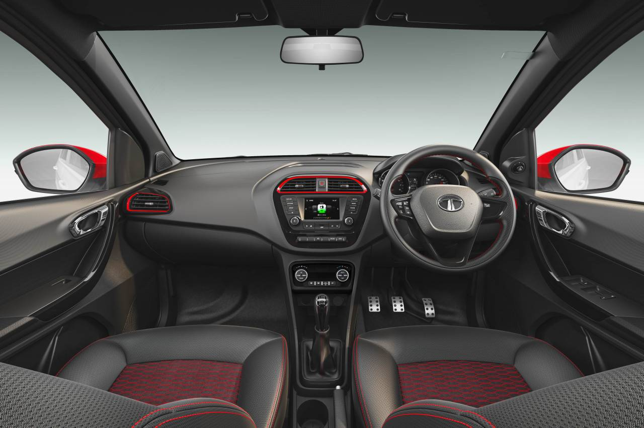 It features the Harman's Connectnext infotainment system which can be accessed through an app suite and also voice commands. AUX, USB, and Bluetooth are also enabled. (Image: Tata Motors)
