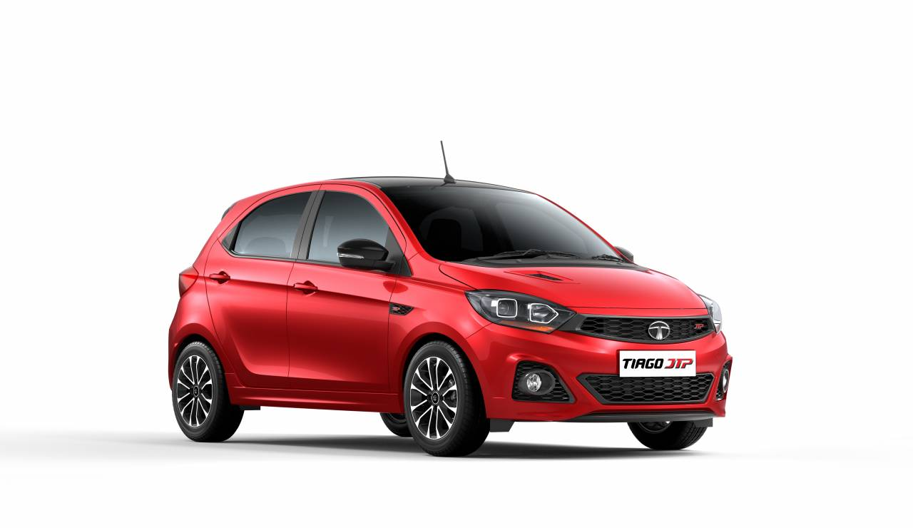 Tata Motors pulled the wraps off the Tiago JTP and Tigor JTP, which have been priced at Rs 6.39 lakh and Rs 7.49 lakh (ex-showroom Delhi) respectively. The two cars are the first products of JT Special Vehicles, the 50:50 joint venture between Tata Motors and Coimbatore-based Jayem Automotives. The latter was founded by former race car driver J Anand. (Image: Tata Motors)