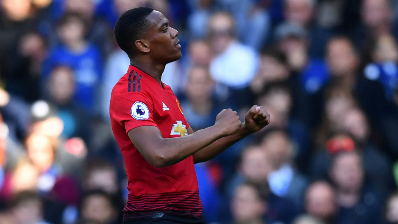 Anthony Martial (Manchester United)| Goals scored - 7 | Assists - 0|Minutes played - 787| Minutes per goal - 112 (Image: Reuters)