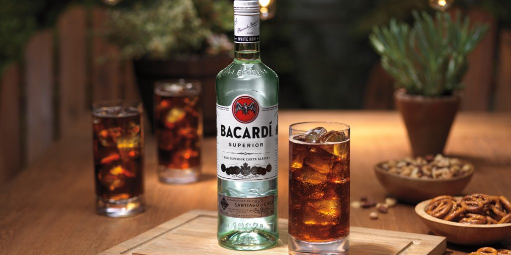 10. Bacardi | Sales volume: 16.8 million | Type of alcohol: Rum | Country of origin: Cuba | Average alcohol content: 42.8% (Image: Bacardi)