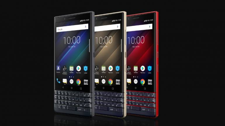 """buy popular f0f71 a4411 BlackBerry KEY2 LE with U-shaped QWERTY keyboard, 4.5"""" touchscreen, SD 636  CPU launched in India"""