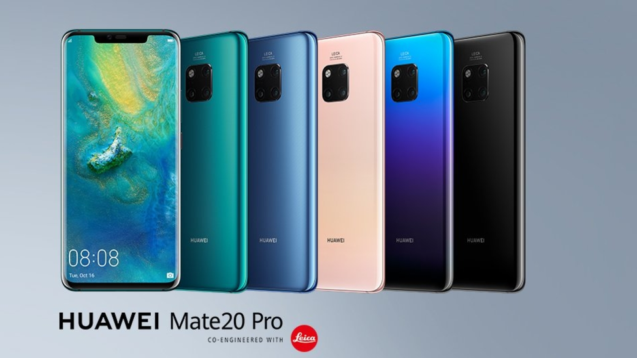 Huawei Mate 20 Pro | The Huawei Mate 20 Pro has a triple-lens camera module. The manufacturer has been working hard with Leica to improve the quality of the camera. To that end, it has replaced the monochrome lens in the P20 Pro with an ultra-wide-angle lens. The Mate 20 Pro has an unusual camera lens setup. The lenses are situated at the back, near the top of the device, and are presented in a square array. The LED flash is placed on the top left side of the camera. The three lenses at the back are 40MP, 20MP and 8MP and are used for telephoto, ultra-wide and portrait mode. The launch price of the Mate 20 Pro was Rs. 54,999. DxOMark score: 116