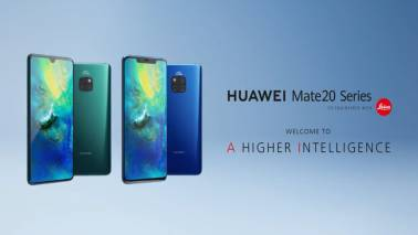Huawei launches Mate 20, Mate 20 Pro, Mate 20X, Porsche Design Mate20 RS phones powered by Kirin 980 chipset