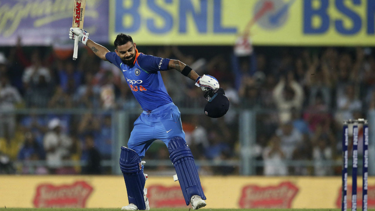 Kohli has scored over 300 runs in a bilateral ODI series on six different occasions. (Image: AP)