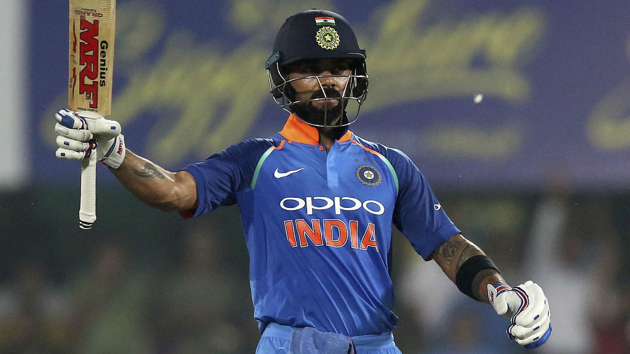 Kohli is the only player to have scored over 15,000 runs at an average of over 50 in international cricket. (Image: AP)