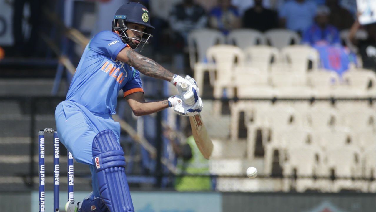 Indian captain Virat Kohli won the toss and opted to bat. India came into the match with two changes to the side that lost the previous ODI. Ravindra Jadeja and Kedar Jadhav replaced Yuzvendra Chahal and Rishabh Pant. The Windies who won their first match of the series at Pune made just one change with Keemo Paul replacing Obed McCoy. (Image: AP)