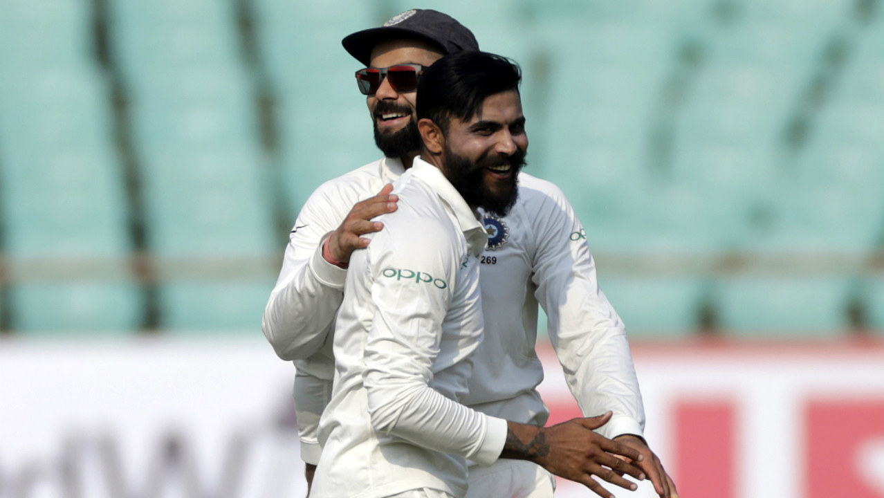 Ravindra Jadeja (India) | Complementing Ravindra Jadeja's good form with the bat was his bowling. The left arm spinner chipped in with wickets at vital intervals to help India maintain pressure on the Windies throughout the series. Series Stats | Matches: 2 | Innings: 4| Overs: 50.5| Wickets: 7| BBI: 3/12| BBM: 4/57 | Average: 19.71 (Image:AP)