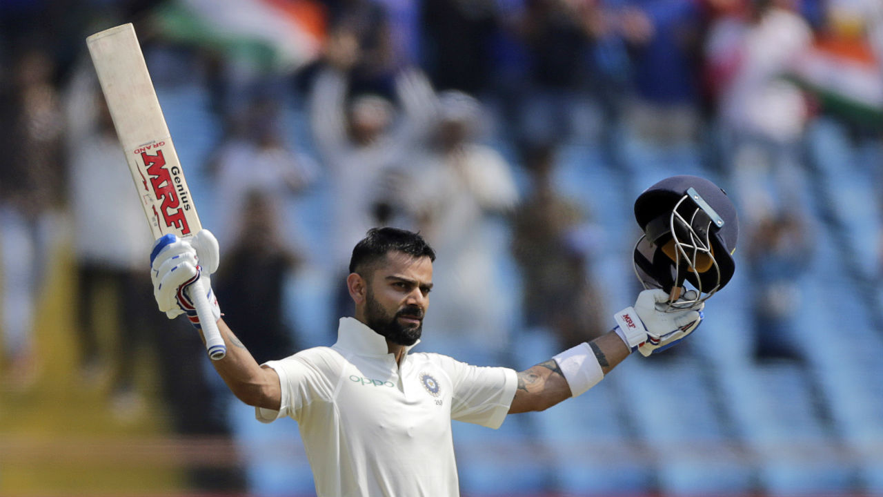 Virat Kohli | The Indian skipper scored his 24th Test century in the game and became the second player behind the great Sir Don Bradman to achieve the feat. It took Kohli 123 innings, while Bradman scored his 24th ton in his 66th innings. (Image: AP)