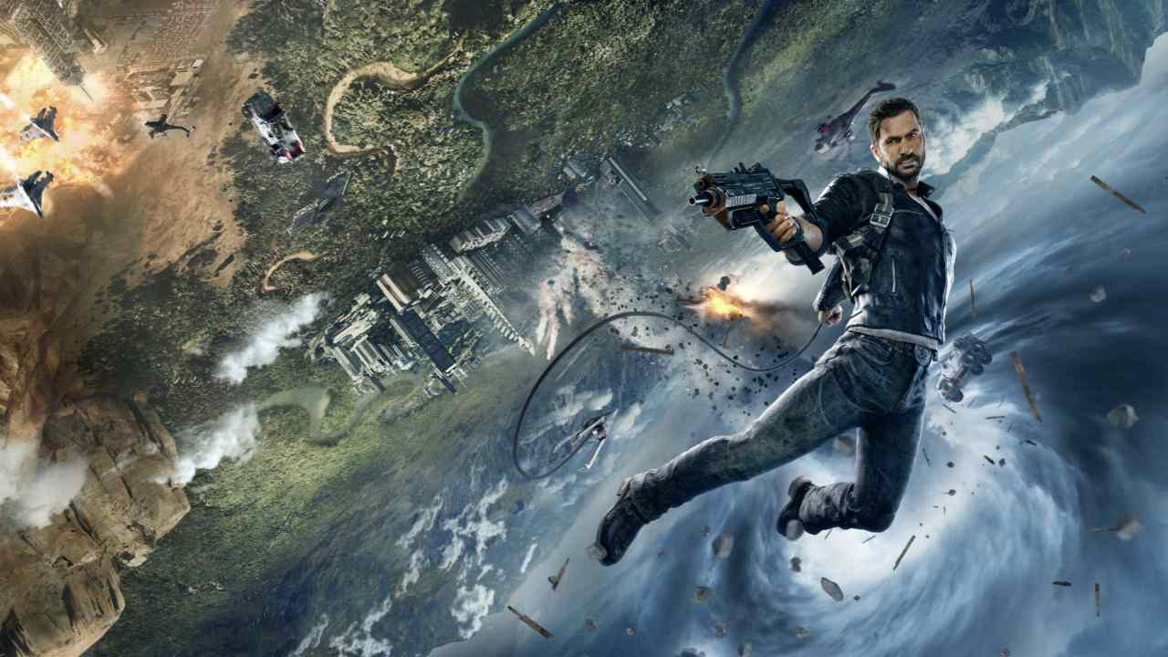 Just Cause series | PS4, Xbox One and PC | If you are a fan of chaos, the Just Cause Series is made for you. The series, which is set on islands and archipelagos, may lack the refined storyline of GTA, but it compensates with choreographing carnage on a massive scale. From launching explosive cows to making you tank jump, everything is possible in the world of Rico Rodriguez. (Image: Just Cause)